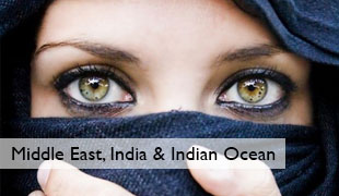 Middle East, India & Indian Ocean Holiday Destinations